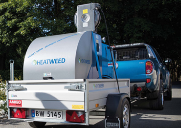 Haetweed machine huren