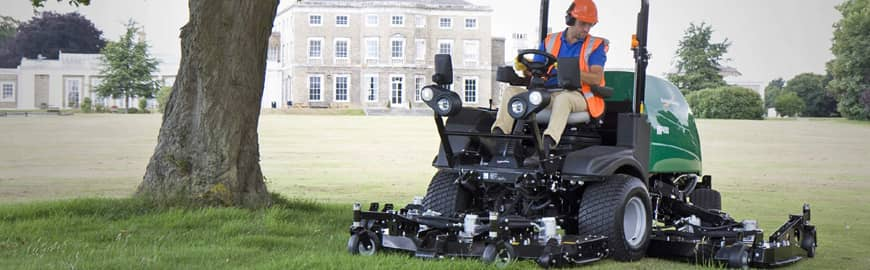 Ransomes tuin-park machines