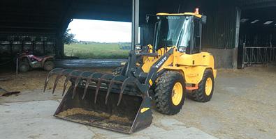 Volvo machines landbouw