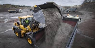 Volvo grondverzet machines