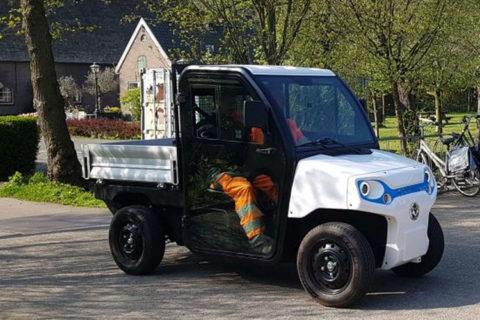 Introductie Goupil G2 elektrische bedrijfswagen